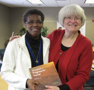 In person meeting with  Sister Patty Chappell, Pax Christi USA