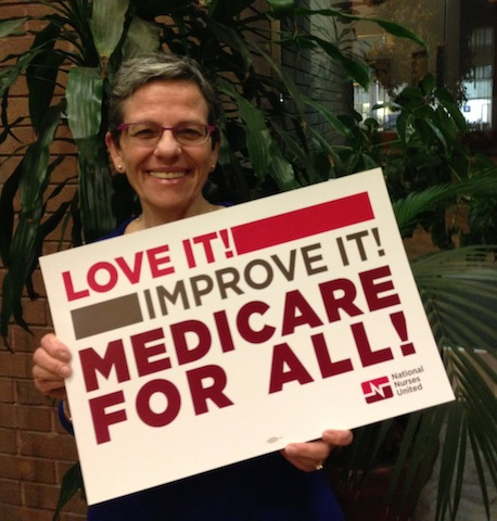 Cindy Young, Campaign for a Healthy California: I keep doing this work because I know there are millions of people out there that aren't going to be able to get the health care they need and that I believe that is absolutely wrong and our country is kinder than that.