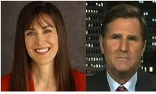 Two progressive talk show hosts, Stephanie Miller and Mike Papantonio, who can be heard on Progressive Voices.com