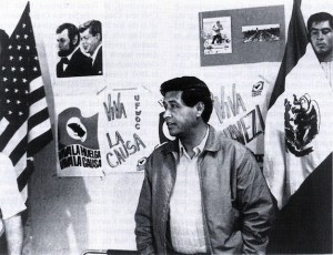 Cesar Chavez dedicated his life to the struggle for economic and social justice.