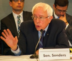 "Bernie Sanders: A forceful voice for ""Medicare For All"" single payer."