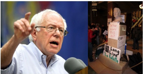 """There is no denying that Bernie Sanders is the 21st century """"Fighting Bob."""" Somewhere Robert La Follette is begging us to listen."""